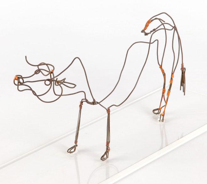 La Vache, objet de Mana, sculpture de Alexander Calder © Pauline Daniel (photo) - Philharmonie de Paris - Musée de la musique