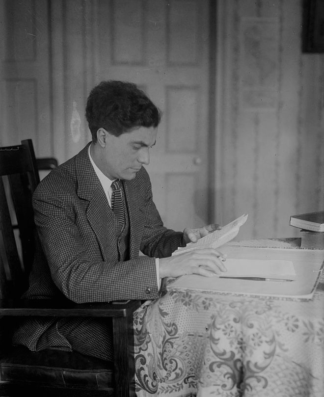Portrait de Edgard Varèse © Library of Congress