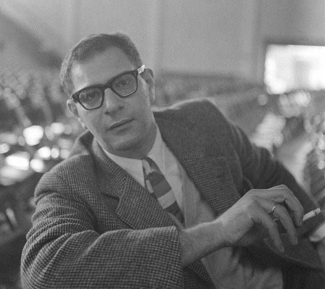 Portrait de Mauricio Kagel, photographie de Charlotte Till-Borchardt, 1959 © Österreichischen Nationalbibliothek