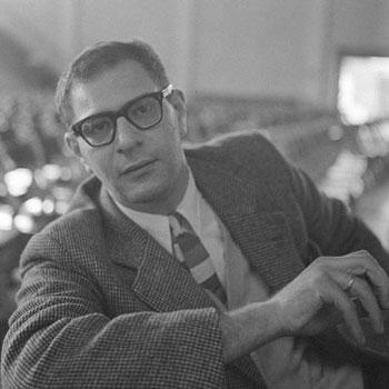 Portrait de Mauricio Kagel, 1959 © Österreichischen Nationalbibliothek