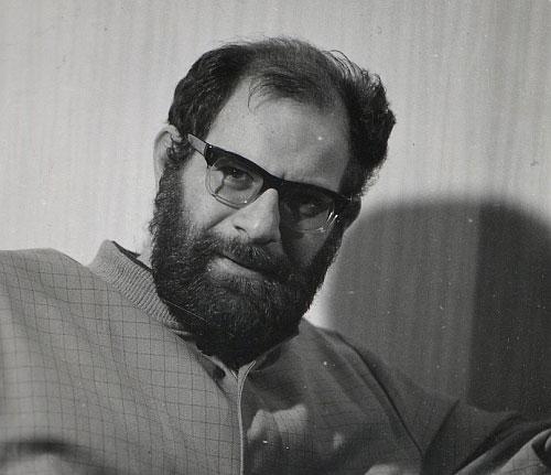 Portrait de Mauricio Kagel, photographie de Klaus Eschen, 1968 © SLUB-Deutsche Fotothek
