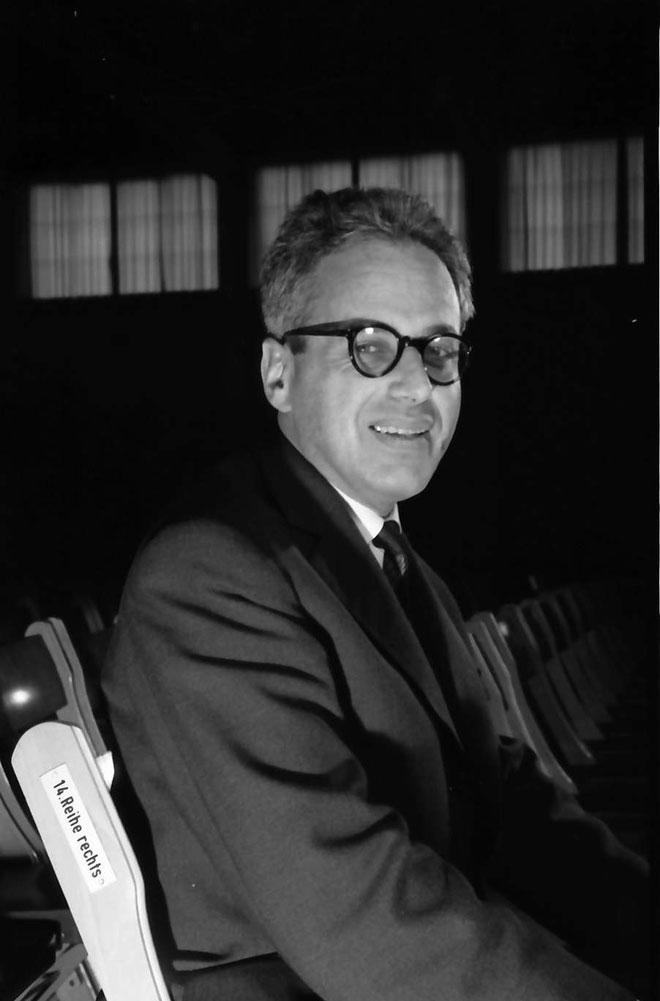 Portrait de György Ligeti, 1961 © Landesarchiv Baden-Württemberg
