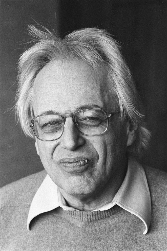 Portrait de György Ligeti, photographie de Marcel Antonisse, 1984 © National Archives of the Netherlands / Anefo