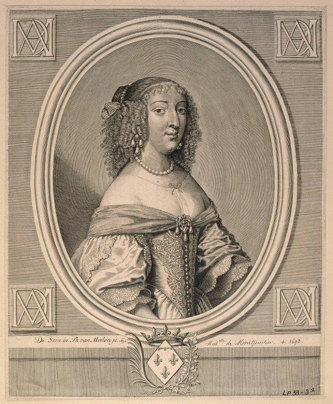 Anne Marie-Louise d'Orleans, duchesse de Montpensier par Gilbert de Seve © RMN