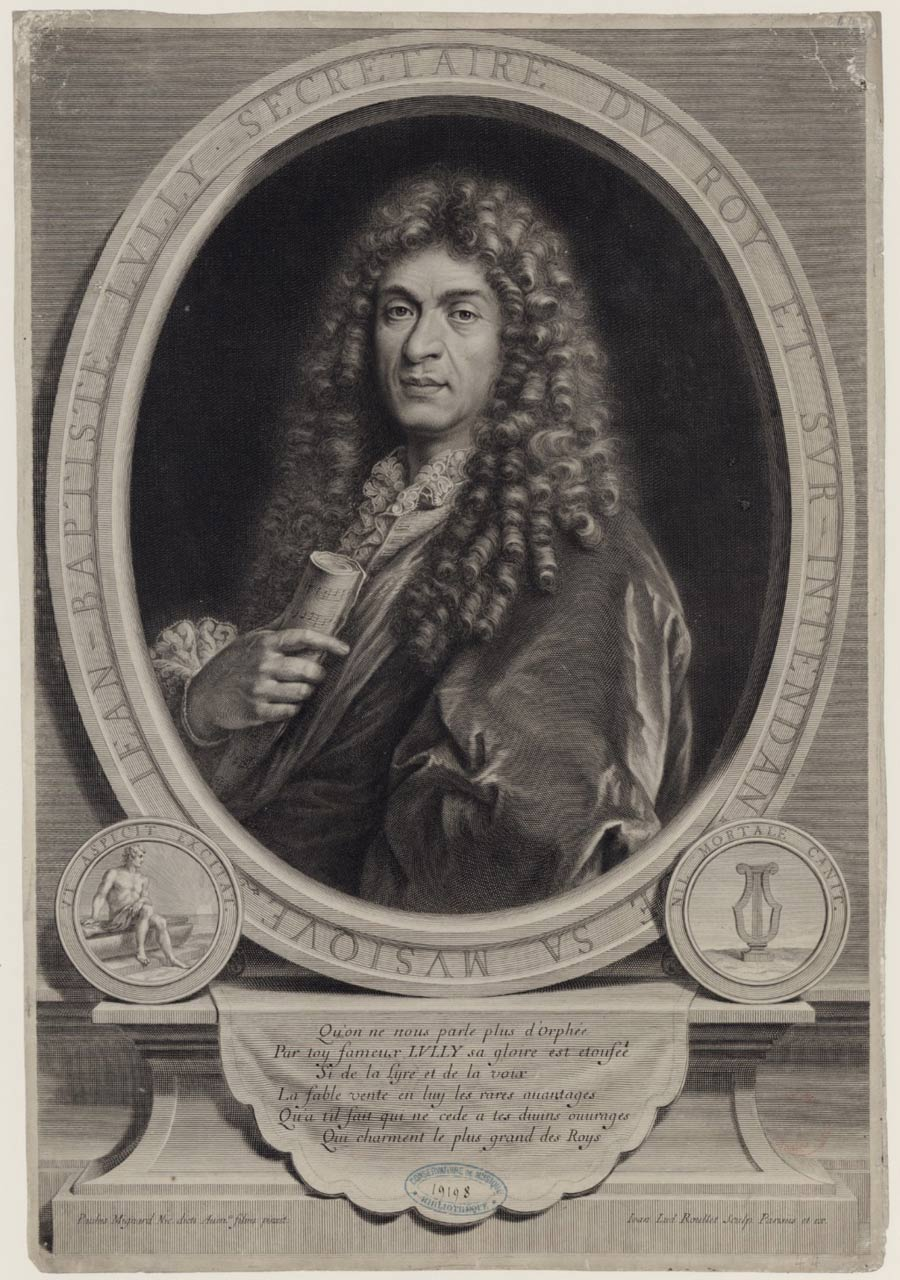 Jean-Baptiste Lully par Paulus Mignard © BNF