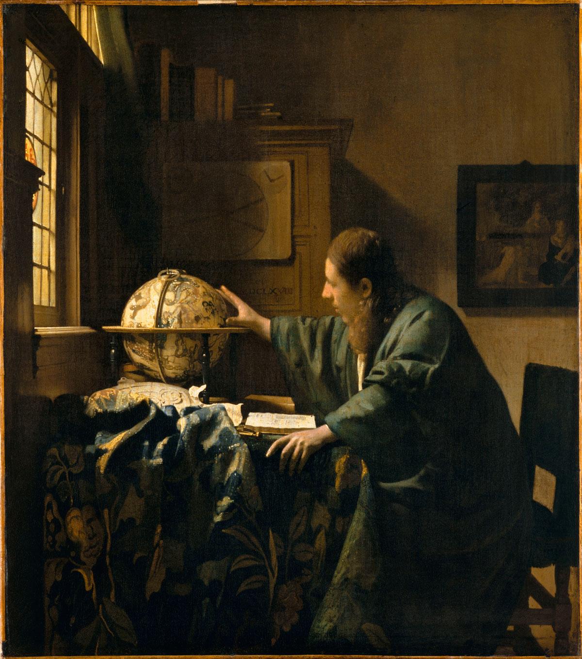 L'Astronome, Johannes Vermeer © Musée du Louvre