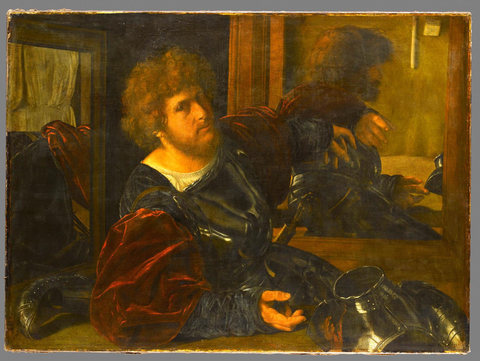 Autoportrait dit autrefois Portrait de Gaston de Foix, Giovanni Girolamo Savoldo © Musée du Louvre