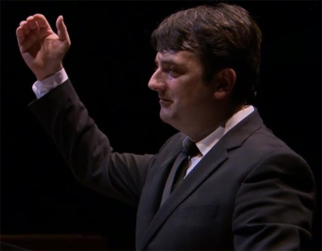 Bruno Mantovani, Philharmonie de Paris le 26 janvier 2016 © Cité de la musique - Philharmonie de Paris