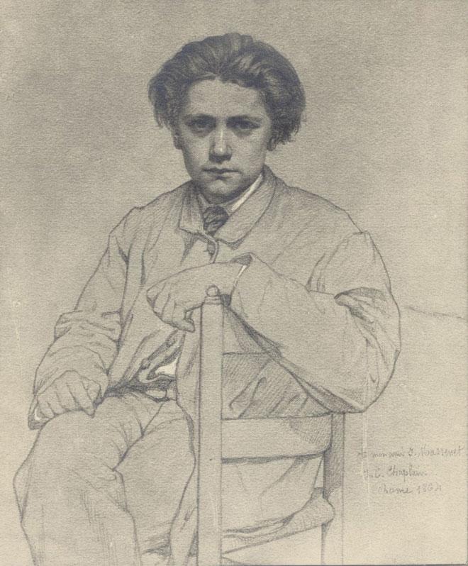 Jules Clément Chaplain, Jules Massenet © Gallica-BnF