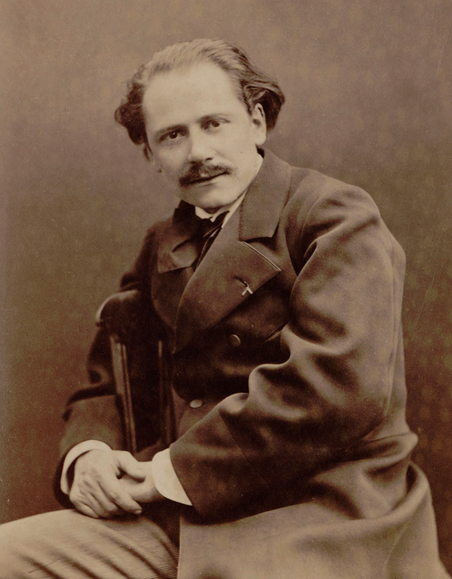 Jules Massenet, 1880. Photo : Pierre Petit. Source : Gallica-BnF