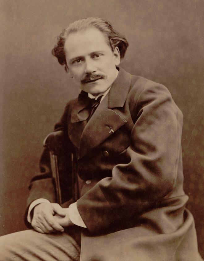 Jules Massenet, 1880. Photo: Pierre Petit. Source: Gallica-BnF