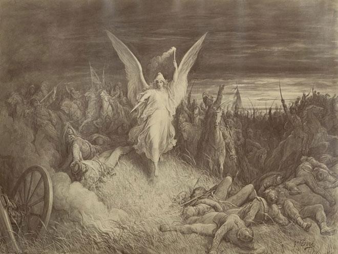 Le Chant du départ, illustration de Gustave Doré © Gallica-BnF