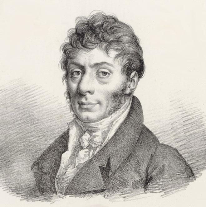 Portrait de Étienne-Nicolas Méhul © Gallica-BnF