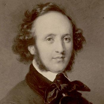 Felix Mendelssohn d'après un tableau de Carl Jäger © Gallica-BnF
