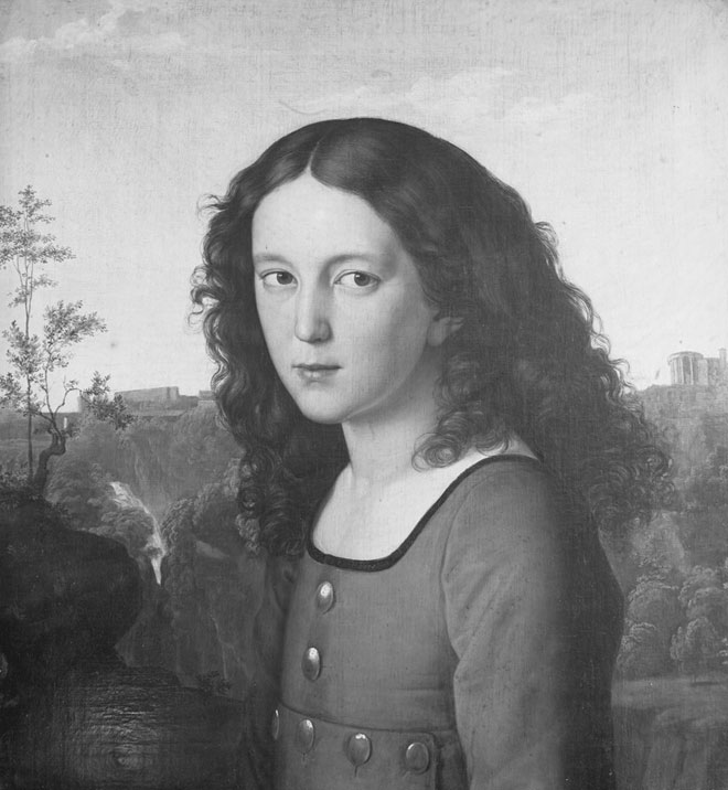 Portrait du jeune Felix Mendelssohn, par Karl Begas, 1821 © Bildarchiv Foto Marburg