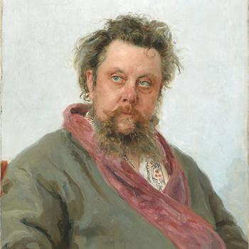 Portrait de Modest Moussorgski |