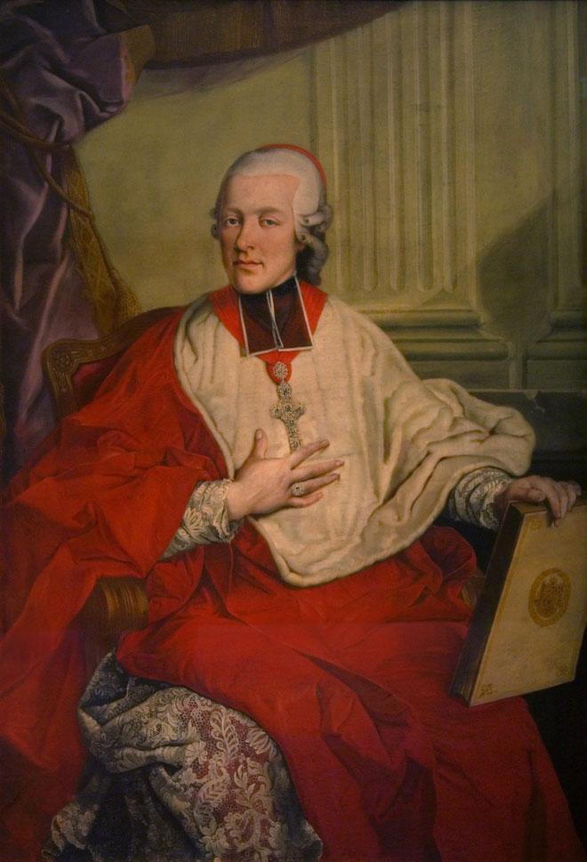 Le prince-archevêque Hieronymus Colloredo © Musée municipal, Salzbourg