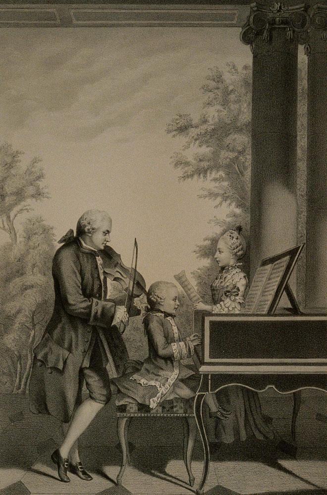 Léopold Mozart, par Llanta Jacques François Gauderique © Philharmonie de Paris