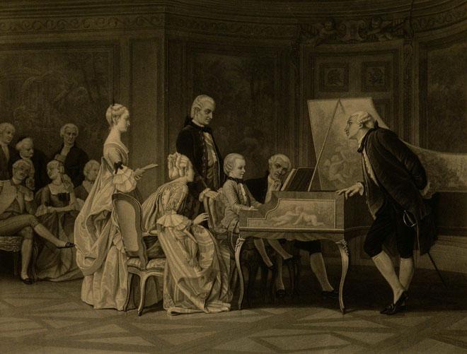 Mozart enfant à la cour de l'empereur François Ier © Philharmonie de Paris