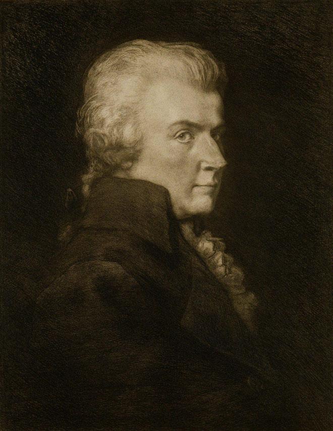 Wolfgang Amadeus Mozart par Carel L. Dake © Philharmonie de Paris