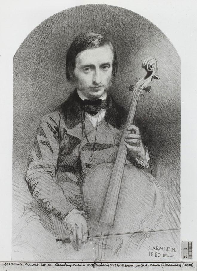 Alexandre Laemlein, Jacques Offenbach © Gallica-Bnf