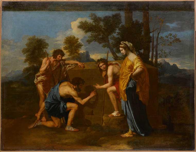 Les Bergers d'Arcadie, Nicolas Poussin © Musée du Louvre