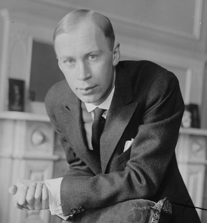 Sergueï Prokofiev, entre 1918 et 1920. Library of Congress - George Grantham Bain Collection
