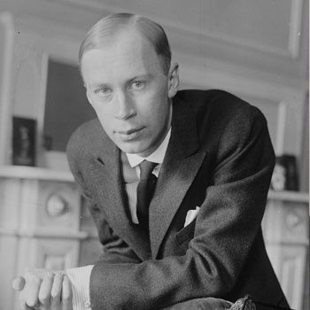 Serguei Prokofiev © Library of congress