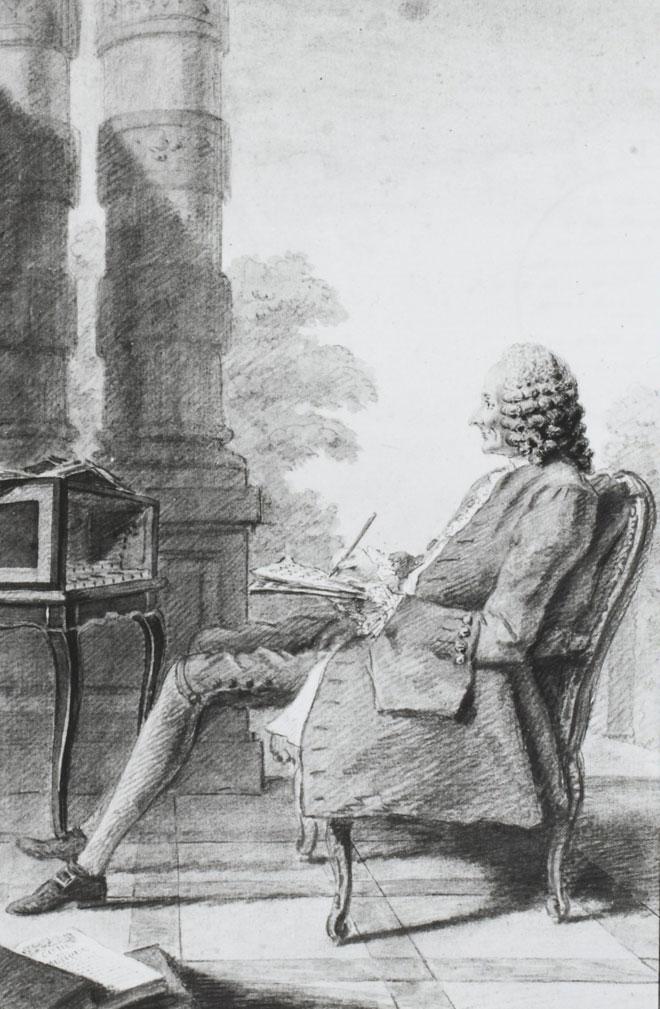 Carmontelle, Monsieur Rameau, 1760 © Gallica-BnF