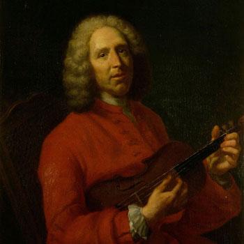 Portrait de Jean-Philippe Rameau, peinture de Jean-Baptiste Félix France, 2e moitié du XIXe siècle. Philharmonie de Paris - Musée de la musique, photo de Jena-Marc Anglès