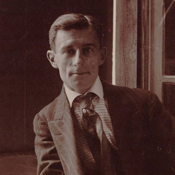 Maurice Ravel, 1910 © BnF