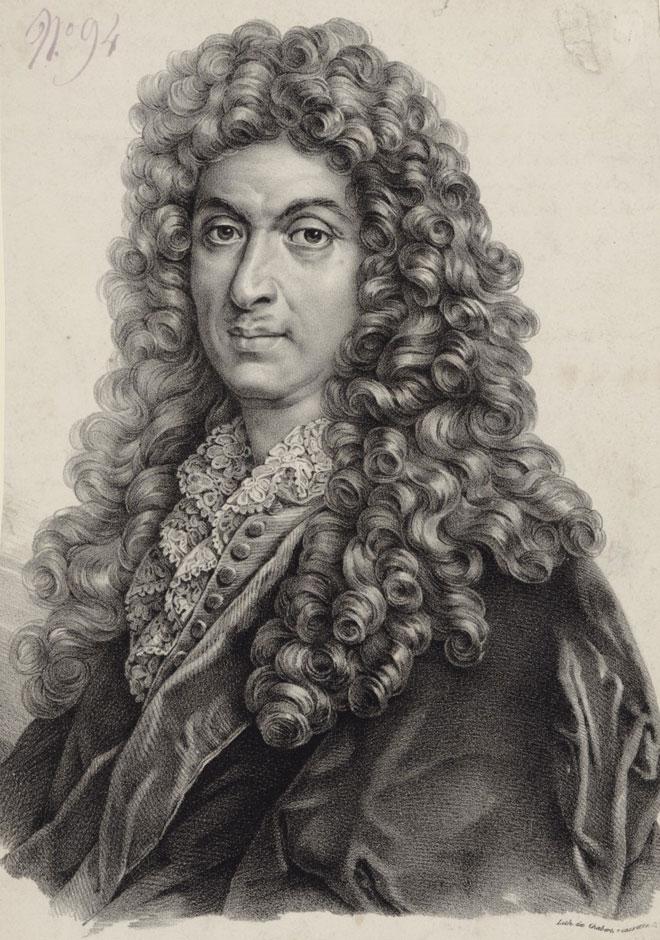 Chabert, portrait de Jean-Baptiste Lully © Gallica-BnF
