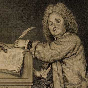 Jean Moyreau, Portrait de Jean-Féry Rebel, 1718 © Philharmonie de Paris, J.-M. Angles