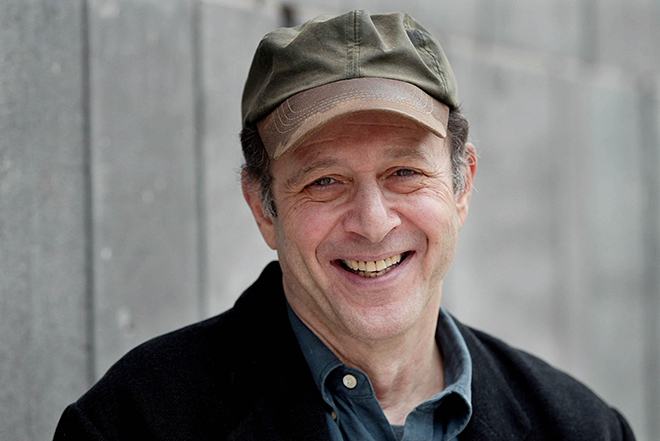 Steve Reich. Photo de Wonge Bergmann