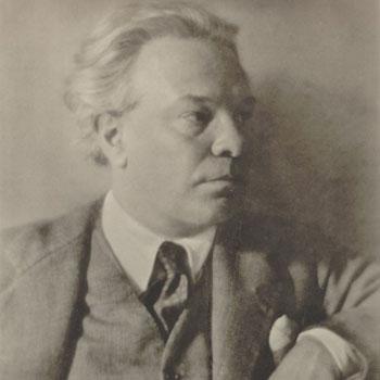 Portrait de Ottorino Respighi |