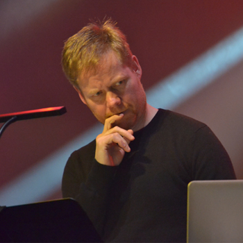 Max Richter. Photo : Charles d'Hérouville