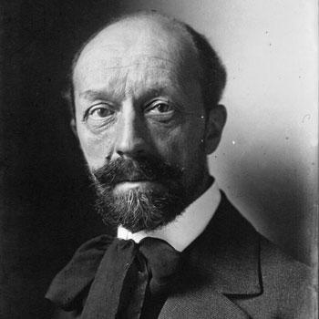 Portrait du compositeur Albert Roussel - Photographie de presse, agence Meurisse © Gallica BnF