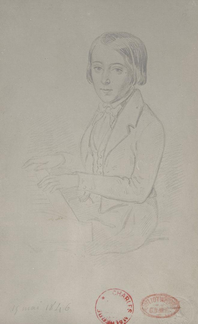 Camille Saint-Saëns, 19 mai 1846 © Gallica-BnF