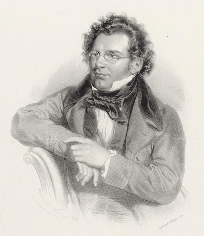 Franz Schubert © Gallica BnF