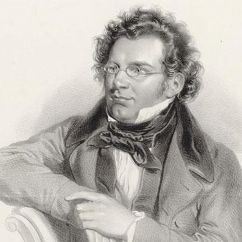 Portrait du compositeur Franz Schubert © Gallica - BnF