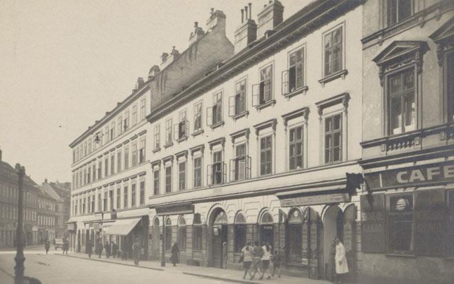 Maison où mourut Franz Schubert © Gallica BnF