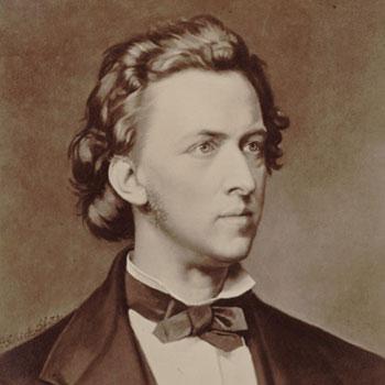 Frédéric Chopin, d'après un portrait de P. Schick © Gallica-BnF