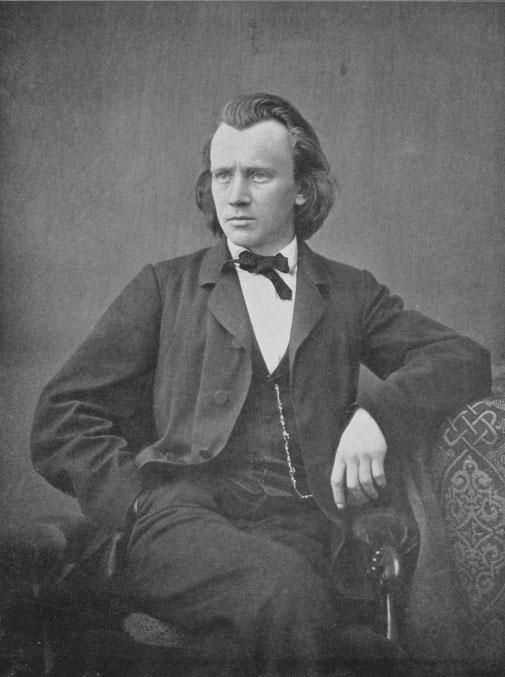 Johannes Brahms © Universitätsbibliothek Würzburg
