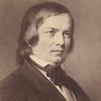 Portrait de Robert Schumann d'après Carl Jäger © Österreichische Nationalbibliothek