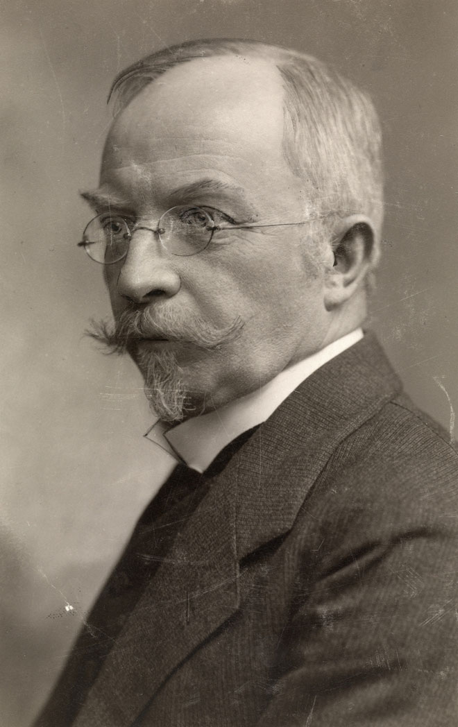 Portrait de Christian Sinding © Oslo Museum
