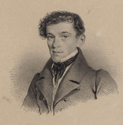 J. Kriehuber, Johann Strauss Père © Gallica-BnF