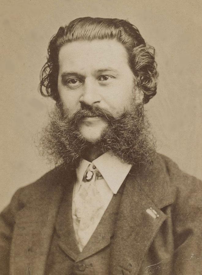 Fritz Luckhardt, Johann Strauss © Gallica-BnF