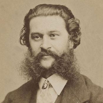 Johann Strauss, par Fritz Luckhardt © Gallica-BnF
