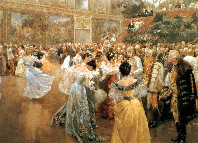 Wilhelm Gause, Bal à Vienne, 1900 © Historisches Museum der Stadt, Wien