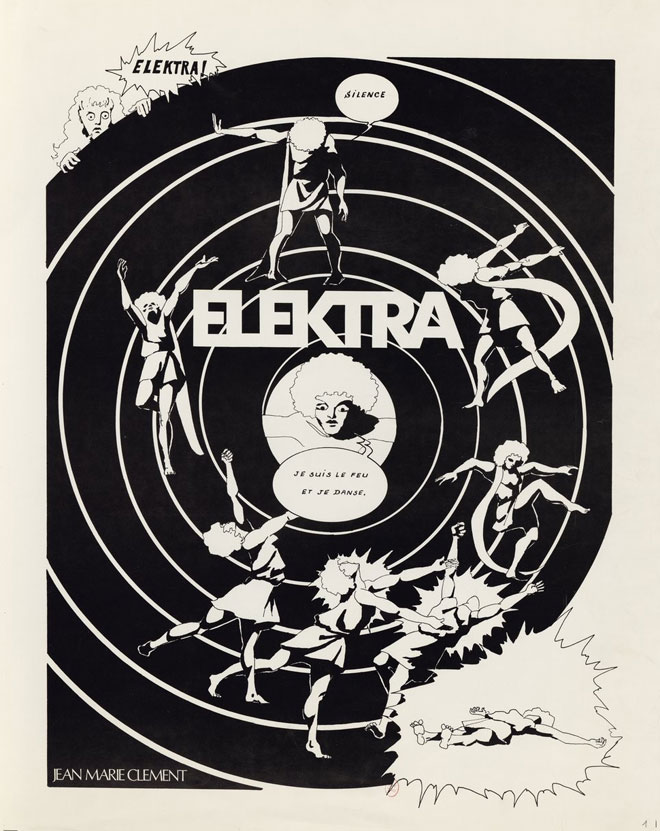 Elektra, opéra de Richard Strauss, documents iconographiques Jean-Marie Clement © BnF